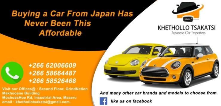 Khethollo Tsakatsi Japanese Car Importers (2)